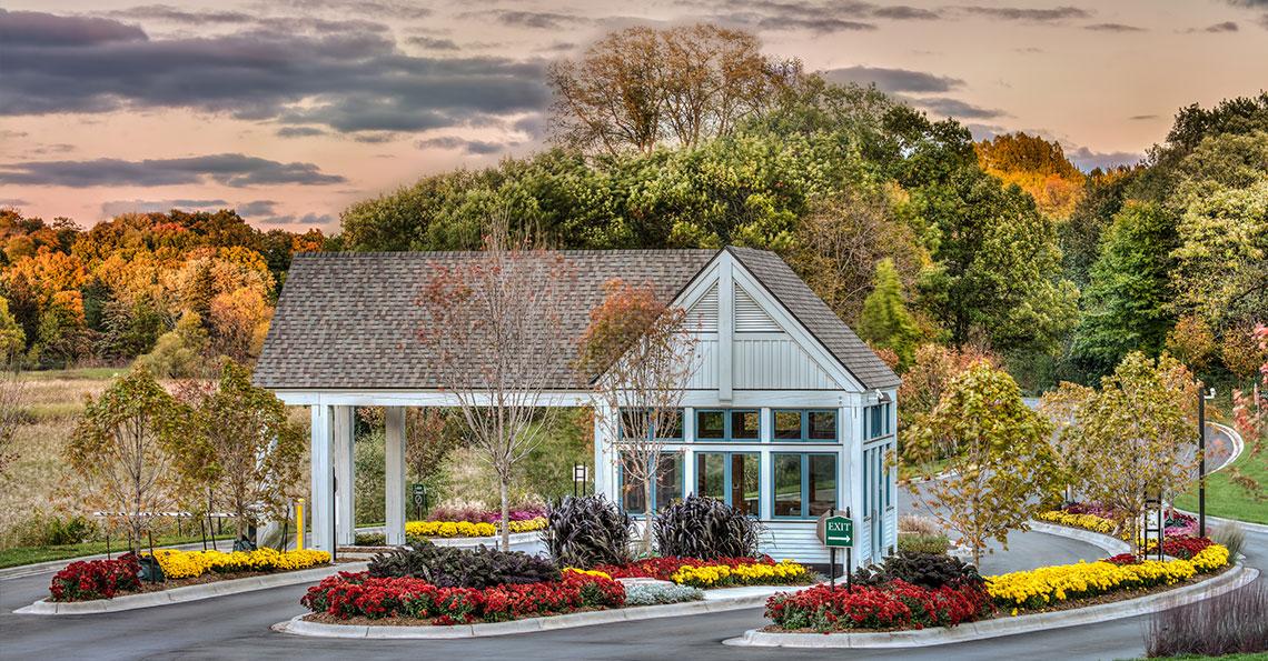 UMN – Gatehouse Arboretum Entrance