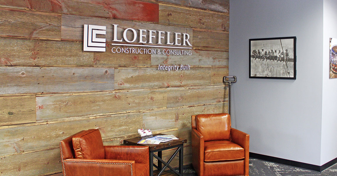 Loeffler Construction Office Space
