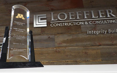 LCC Receives University of Minnesota Contractor of the Year Award