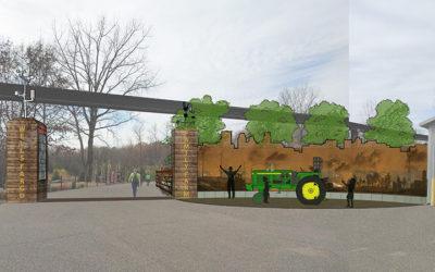 MN Zoo Wells Fargo Family Farm Gateway