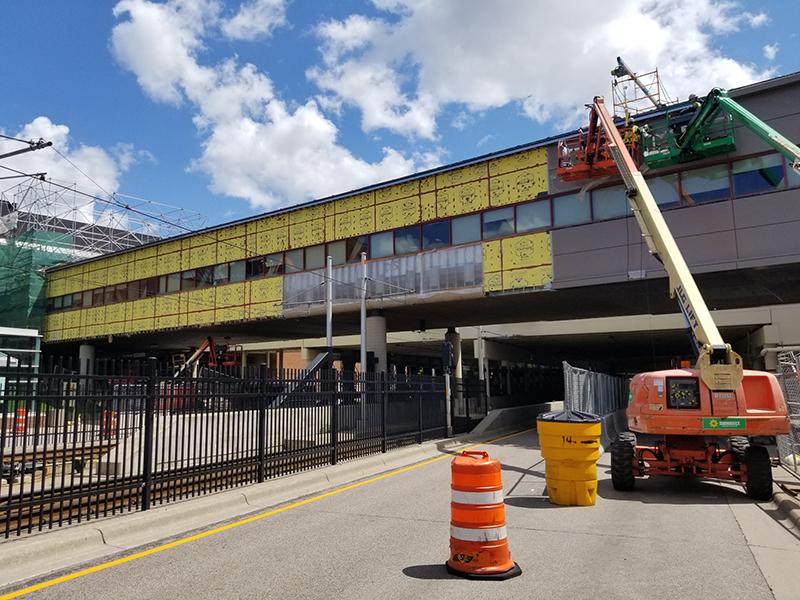UMN Skyway Receives Improvements Over Metro Transit Lightrail