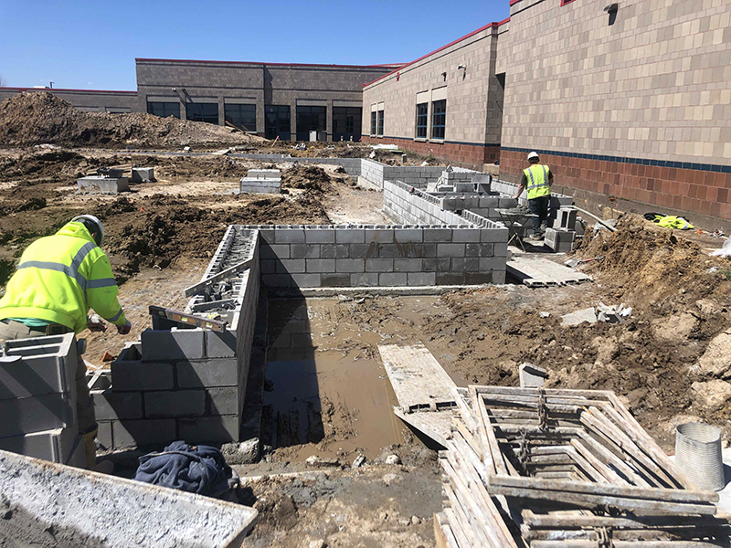 Construction Underway at Cherry View Elementary