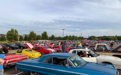 LCC Staff at Lakeville's Cruise Night