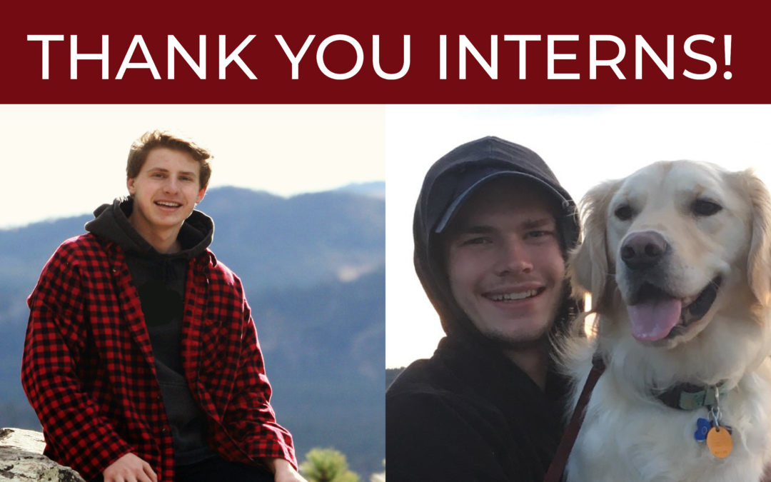 Thank You Interns!