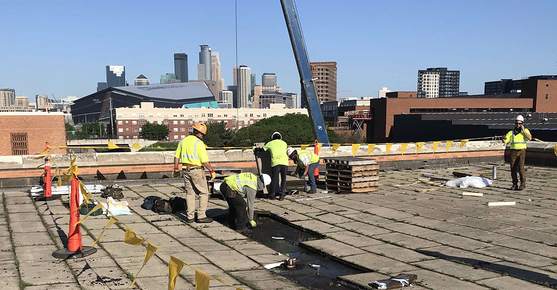 UMN – Campus Wide Roof Replacement