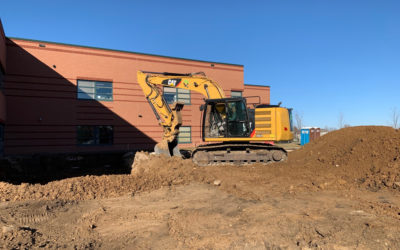 First of Three New Lakeville Elementary Additions Has Broken Ground