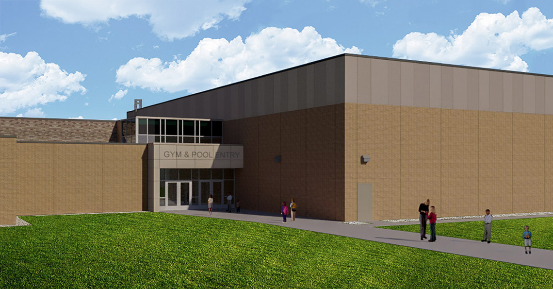 McGuire Middle School Gym Addition