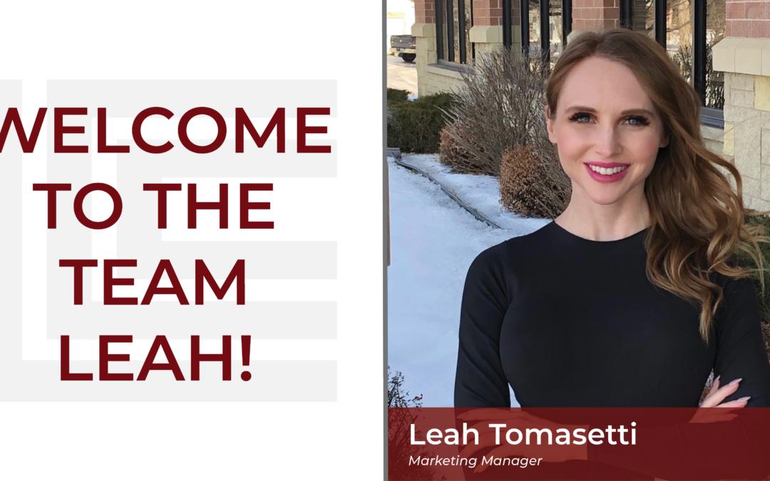 Loeffler Welcomes Leah Tomasetti!