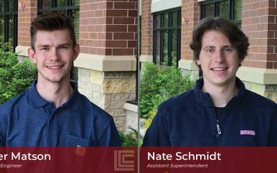 Promising Careers Begin at Loeffler: Welcome Back Nate Schmidt & Tyler Matson!